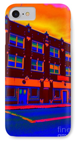 IPhone Case featuring the photograph Mars Hotel by Jesse Ciazza