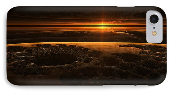 Marscape IPhone Case by GJ Blackman