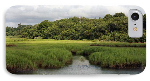 IPhone Case featuring the photograph Marsh At High Tide by Michael Helfen