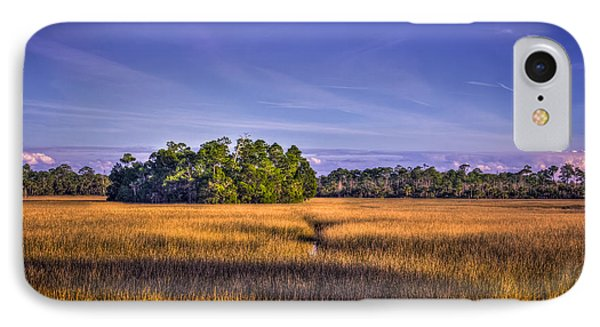 Marsh Hammock Phone Case by Marvin Spates
