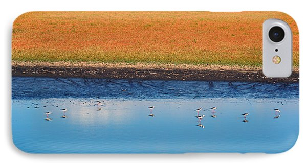 IPhone Case featuring the photograph Marsh Lands by Cassandra Buckley