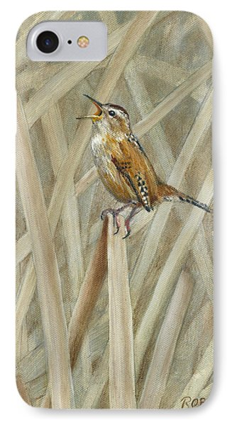 Marsh Melody IPhone Case by Dreyer Wildlife Print Collections