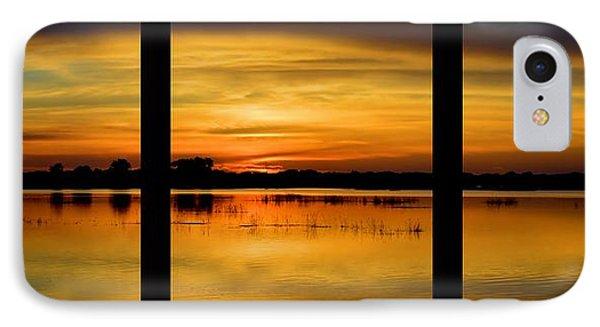 Marsh Rise Tiles 1-3 IPhone Case by Bonfire Photography
