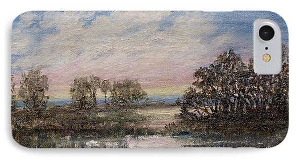 Marsh Sketch # 5 IPhone Case by Kathleen McDermott