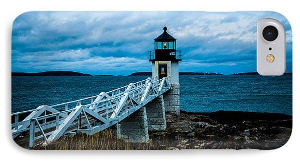 Marshall Point Light At Dusk 2 IPhone Case