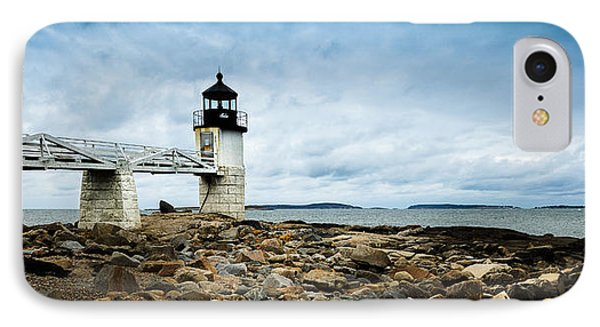 Marshall Point Lighthouse Panoramic IPhone Case