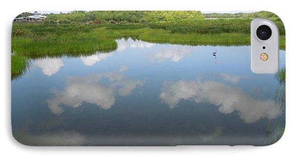 Marshland IPhone Case by Ron Davidson