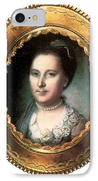 Martha Washington, American Patriot IPhone Case by Science Source