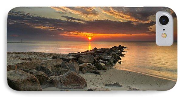 Marthas Vineyard Sunrise IPhone Case by Darylann Leonard Photography