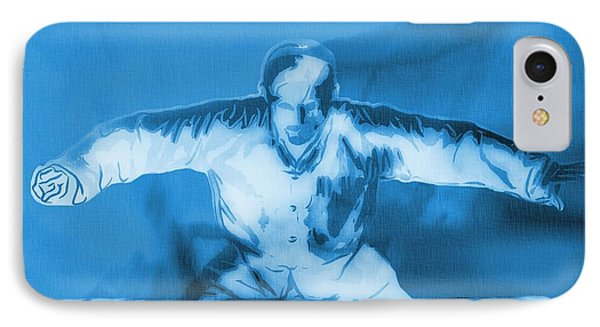 Martial Arts Poster IPhone Case by Dan Sproul