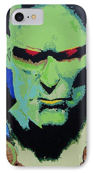 Martian Manhunter - A Close Encounter IPhone Case by Kelly Hartman