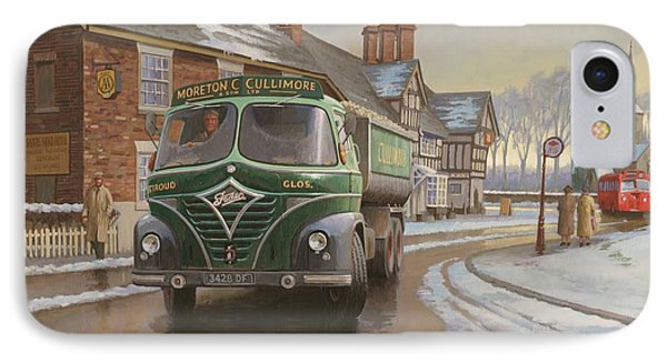 Martin C. Cullimore Tipper. Phone Case by Mike  Jeffries