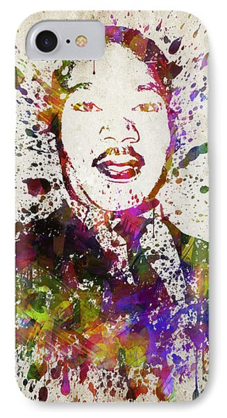 Martin Luther King Jr In Color IPhone Case