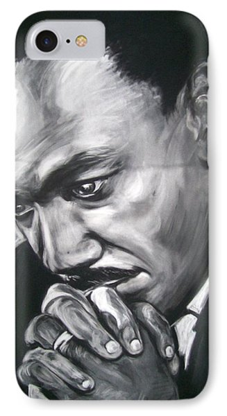 Martin Luther King Jr IPhone Case by Martha Suhocke