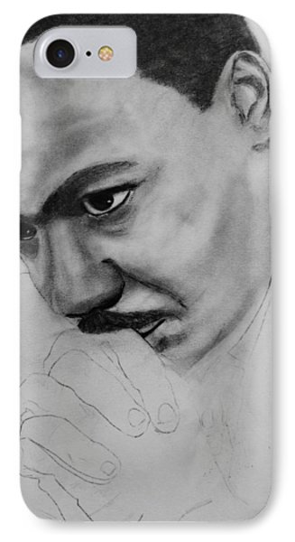 Martin Luther King Jr. Mlk Jr. IPhone Case by Michael Cross
