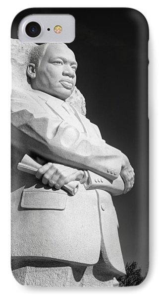 Martin Luther King Jr. Statue IPhone Case by Celso Diniz