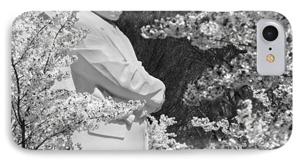 Martin Luther King Memorial Through The Blossoms IPhone Case