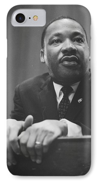 Martin Luther King Press Conference 1964 Phone Case by Anonymous