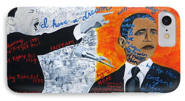 Martin Luther King's Dream Is Coming True IPhone Case
