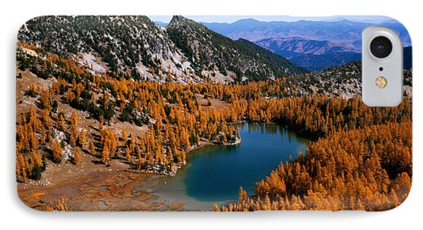 Martin Peak And Cooney Lake IPhone Case
