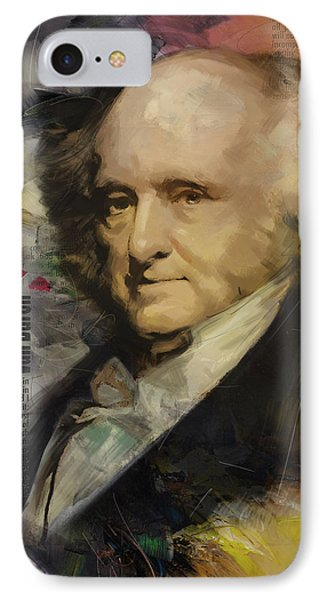 Martin Van Buren IPhone Case by Corporate Art Task Force