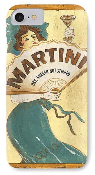Martini Dry Phone Case by Debbie DeWitt