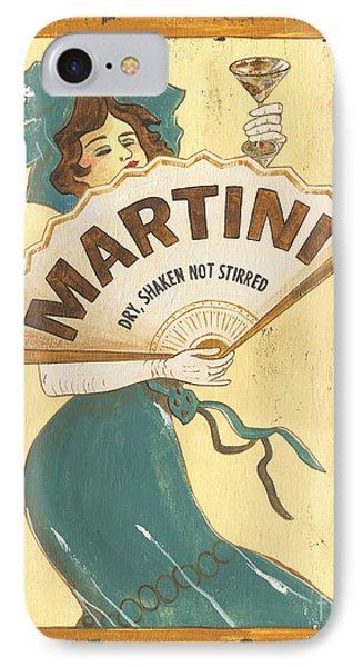 Martini Dry IPhone 7 Case by Debbie DeWitt