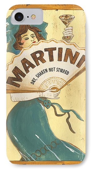 Martini Dry IPhone Case by Debbie DeWitt