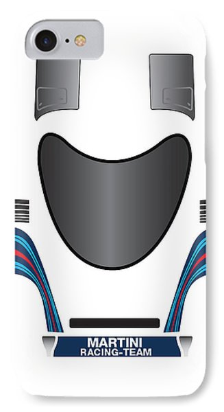 Martini Porsche IPhone Case