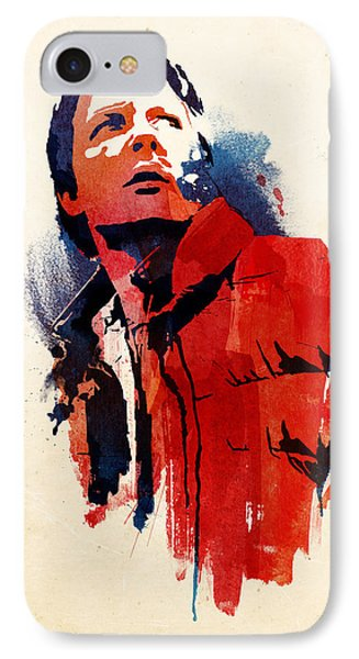 Marty Mcfly IPhone Case by Robert Farkas