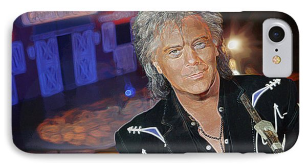 IPhone Case featuring the photograph Marty Stuart At The Ryman by Don Olea