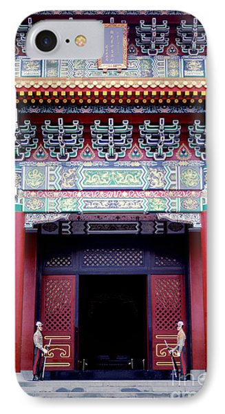 Martyrs' Shrine In Taipei Phone Case by Anna Lisa Yoder