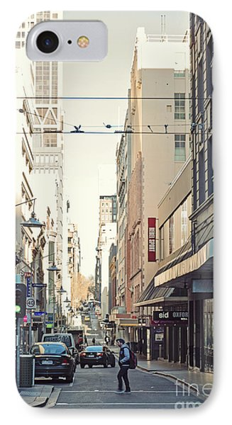 Marvellous Melbourne 2 IPhone Case by Linda Lees