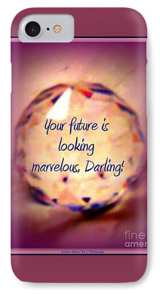 Marvelous Darling Phone Case by Bobbee Rickard
