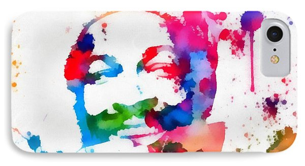 Marvin Gaye Paint Splatter IPhone Case
