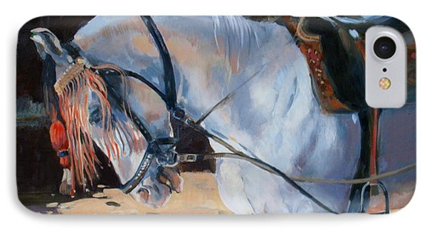 Marwari Horse IPhone Case by Jennifer Wright