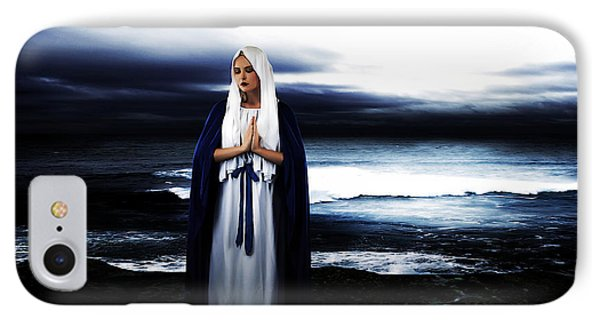 Mary By The Sea Phone Case by Cinema Photography