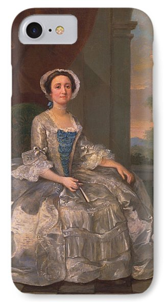 Mary Hoadly, C.1742 IPhone Case by William Hogarth