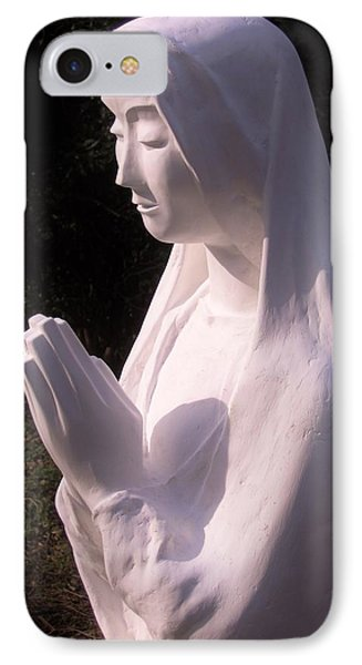 Mary In Prayer 2009 IPhone Case