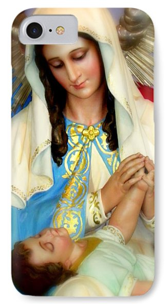 Mother Mary IPhone Case by Karen Wiles