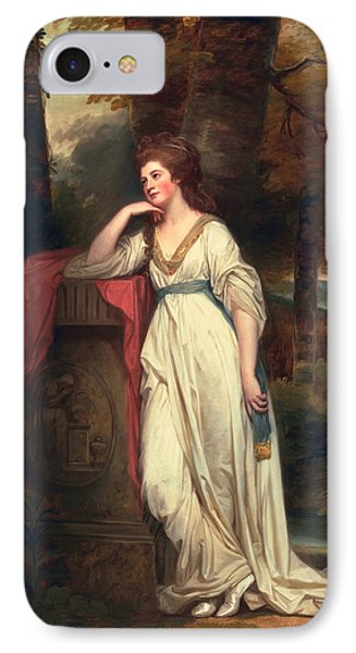 Mary, Lady Beauchamp-proctor, C.1782-88 IPhone Case by George Romney