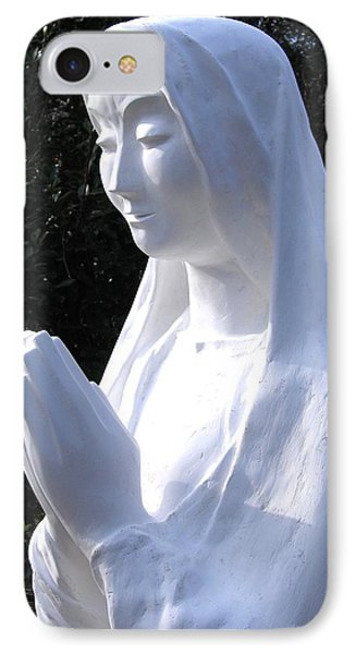 Mary Praying 2009 IPhone Case