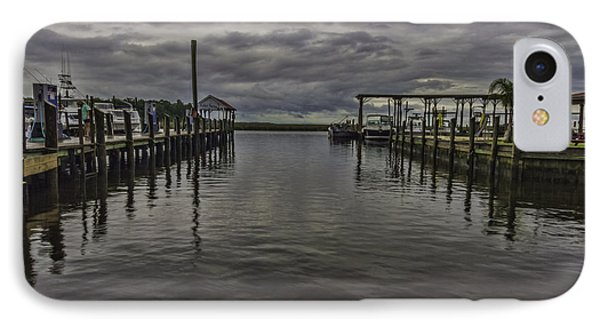 Mary Walker Marina - Stormy Skies IPhone Case by Brian Wright