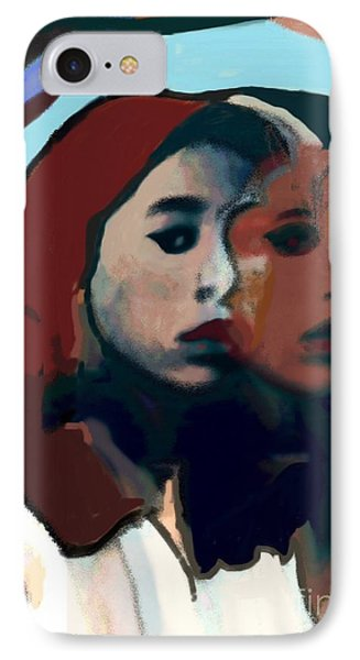Marygirl IPhone Case by Susan Townsend