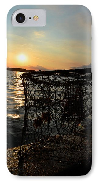 Maryland Crabber's Horizon IPhone Case