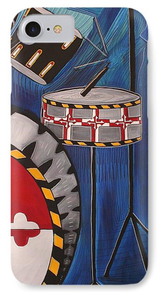 Maryland Drums Phone Case by Kate Fortin