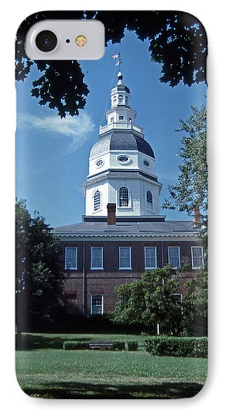 Maryland State House IPhone Case