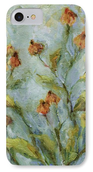 IPhone Case featuring the painting Mary's Garden by Mary Wolf