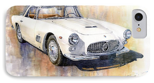 Maserati 3500gt Coupe IPhone Case by Yuriy  Shevchuk