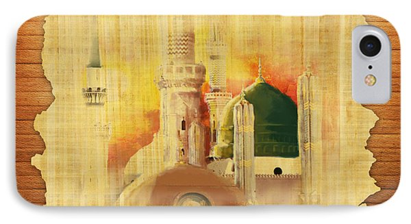 Masjid E Nabwi 02 IPhone Case